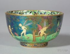 Wedgewood Fairy Lustre bowl