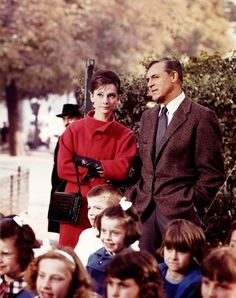 Audrey & Cary Grant