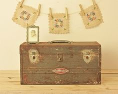 vintage craftsman tool box.