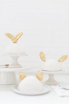 DIY Animal Ear Cake Toppers   Sugar & Cloth #diy #modern #homedecor #decor #easydiy #entertaining