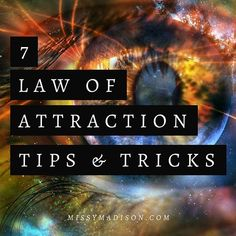 It's my honour and duty to share with you the knowledge I've learned on using the law of attraction and the power of manifestation.  Here are 7 law of attraction tips and tricks that have helped me along my journey. ☀️ www.missymadison.com  | Link in bio to latest blog post |