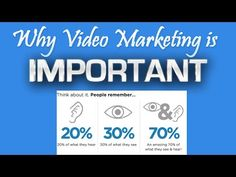 ▶ Why Video Marketing is CRUCIAL to your online Success !!! - YouTube