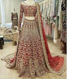 This beautiful designer wedding, party wear dress. Be your gorgeous self in this beautiful dress, perfect for a party, function or wedding. Style the look with a ring and a pair of earrings. Pakistani Bridal Lehenga, Pakistani Wedding Outfits, Indian Bridal Outfits, Pakistani Dress Design, Pakistani Bridal Dresses Online, Pakistani Bridal Couture, Latest Bridal Lehenga, Walima, Wedding Lehenga Designs