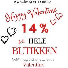 """Designerhome_norge on Instagram: """"Happy Valentine❤️ I dag får du 14% på hele butikken ved bruk av koden Valentine❤️ www.designerhome.no"""" Calm, Artwork, Work Of Art, Auguste Rodin Artwork, Artworks, Illustrators"""