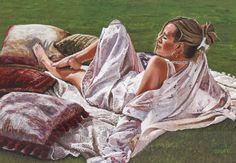 Summertime in Kircubbin III - Paintings