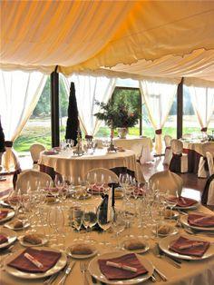 Banquete carpa Castillo del Buen Amor