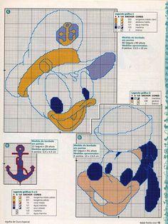 Sailor Goofy & Donald
