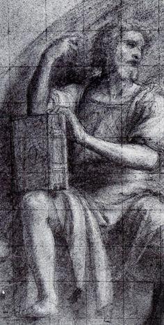 Leonardo da Vinci as St. Luke