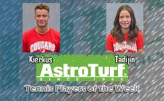 CSU's Kierkus, Tadijin Named PBC Tennis AstroTurf Players of the Week