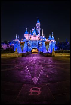 bc2efd45ce Sleeping Beauty Castle at the Disneyland Resort look glorious at night.