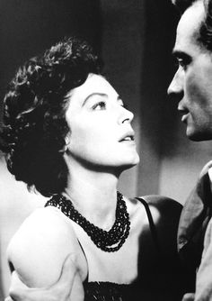 """avasgal: """" Ava Gardner and Mel Ferrer in The Sun Also Rises """" Old Hollywood, Hollywood Cinema, Golden Age Of Hollywood, Ava Gardner, Young Movie, Famous Duos, Pretty Movie, The Sun Also Rises, Woman Movie"""