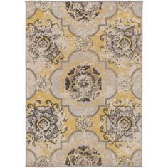 Found it at Wayfair - Andersonville Yellow/Brown Area Rug