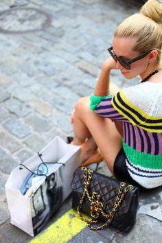 striped fashions
