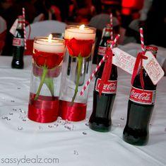 DIY Coca-Cola Bottle Wedding Favor Idea #Coke bottle favors #Red, white, black wedding colors | http://www.sassydealz.com/2014/01/diy-coca-cola-bottle-wedding-favor-idea.html