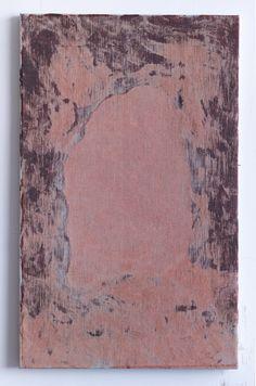 Sergej Jensen, Untitled (back painting) 2014,acrylic on linen