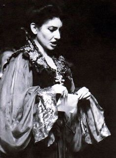 Maria Callas in Fedora by Giordano; photographed by Erio Piccagliani (Milan, Maria Callas, The Empress Of China, Classical Opera, Opera Singers, Types Of Music, Photos, Pictures, Yorkie, Diva