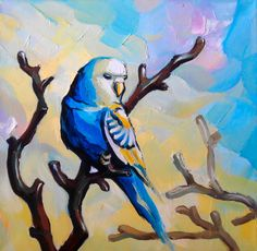 Blue parrot for sale Order at http://buyartus.com  Oil painting review Part 29 BuyArtUs  https://youtu.be/J5q09TdoJoA   Canvas stretched on a frame. Size: 16 x 14 in. (40х35 cm.). Materials: Oil, canvas  #oilpainting #oilpaintingsforsale #originalartforsale #paintingsforsale #oilpaintingforsale #handmadepainting #originaloilpainting #stretchedcanvas #oiloncanvas #originalart #painting #canvas #original #artforsale