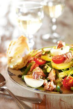 Salaattia Nizzan tapaan | K-Ruoka