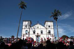 Matriz de Pirenopolis church in Pirenopolis, Brazil✔️