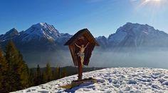 Eine Winterwanderung im Oktober zum Toten Mann - Berchtesgadener Land Blog