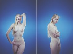 from: Illusions of the Bodyseries Photographer:Gracie Hagen  She photographed the same people in two different poses to show how posture changes identity.