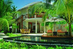 wonderful tropical house in Bali, Indonesia