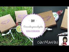 Caramelos personalizados | ClariManitas