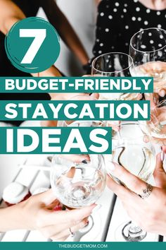 If your travel plans are on hold for an indefinite period of time, you may find that you're starting to go a little stir crazy. Learn about seven budget-friendly staycation ideas to help you get the break you need. #staycation via @thebudgetmom Save Money On Groceries, Ways To Save Money, Money Saving Tips, Budgeting Finances, Budgeting Tips, No Spend Challenge, Frugal Living Tips, Staycation, Money Management