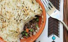 Shepherd's pie is a classic comfort dish that is rarely thought of as healthy, but this recipe changes that. #comfortfoodrecipes #healthyrecipes #lowcalorierecipes