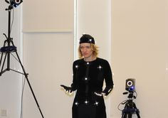 Melissa Malzkuhn, director of the Motion Light Lab at Gallaudet University, suits up in motion capture to record a nursery rhyme for deaf children. Visual Learning, Kids Learning, Deaf Children, Deaf People, Engineering Technology, Assistive Technology, Deaf Culture, American Sign Language, Higher Education