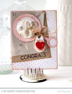 Welcome, Baby Stamp Set and Die-namics, Mesh Background, Tiny Stars Background, Circle Scribbles Background, Baby Rattle Die-namics, Stitched Tiny Tags 2 Die-namics, Stitched Star STAX Die-namics, Rolled Roses Die-namics, Blueprints 15 Die-namics - Julia Stainton #mftstamps
