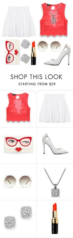 """red doll"" by appu-malae ❤ liked on Polyvore featuring Bebe, Kenzo, Kate Spade, Chloé, David Yurman, Bloomingdale's and Bobbi Brown Cosmetics"