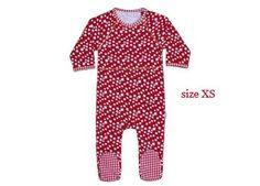 pyjama bébé rouge étoiles 'Noël' Claesen's JR | shop pour enfants Le Petit Zèbre