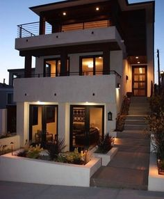 beautiful new california modern house design 45 > Fieltro.Net 47 Beautiful New California Modern House Design > Fieltro. House Goals, Modern House Design, Home Fashion, Exterior Design, Exterior Paint, Black Exterior, Interior Architecture, Luxury Interior, Landscape Architecture