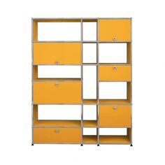 Bibliothèque Haller - USM, bibliotheque, shelves, bookcase