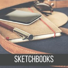 Surely, you've bought more sketchbooks than you need before. It's important to have a good sketchbook, one that feels comfortable when drawing. I'd say it's good to have at least two sketchbooks: one that is bigger, to use at home. And other, smaller and portable to bring with you. Here are my Recommended Sketchbooks!