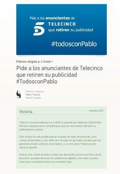 Se han impuesto el sentido común y la ética: Telecinco retira la demanda contra @Pablo Herreros Laviña Common Sense, Future Gadgets, Advertising