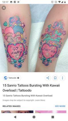 Kawaii Tattoo, Watercolor Tattoo, Tattoo Ideas, Tattoos, Tatuajes, Japanese Tattoos, Tattoo, Tattoo Illustration, A Tattoo