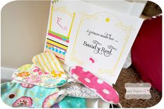 Favors: Eye masks {My Paper lily}