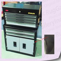 Stanley Professional Tool Chest Rolling Cabinet 6 Drawer Mechanics Set C 106dbs Tool Chest Professional Tools Drawers