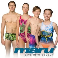 THE TIME HAS COME! Make a splash in the colourful new #MaruSS17 range available NOW! #DiveIntoColour