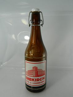 Vintage Beer Bottle Diekirch Vintage by 3sisterstreasures on Etsy, $11.00 Vintage Packaging, Hot Sauce Bottles, Beer Bottle, Ale, Unique Jewelry, Etsy, Ale Beer, Beer Bottles, Costume Jewelry