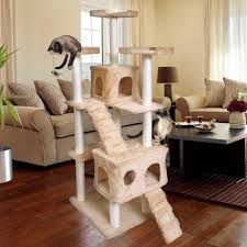 Image result for cat condo Furniture Scratches, Cat Furniture, Cat Towers, Sisal Rope, Cat Condo, Outdoor Cats, Cat Tree, Neutral Colors, Lounge