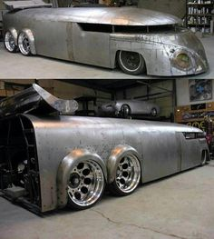 VW Bus Hot Rod... wow