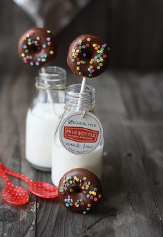 mini donuts (IMG_0042) by SandeeA Cocina, via Flickr