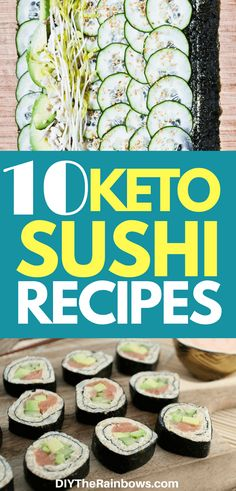 Missing sushi while on a ketogenic diet? Don't worry! We have some awesome recipes that will be just for you. From the texture to the flavor, this sushi roll is almost same as traditional sushi, but low-carb. Believe me and try these 10 keto recipes of sushi.