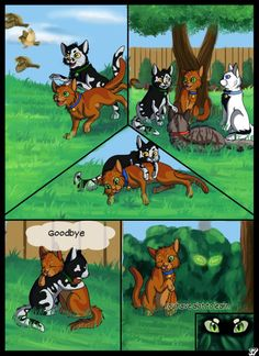 Warriors into the wild: page - 17 by SassyHeart on DeviantArt