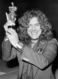 """Robert Plant • LED ZEPPELIN                              His """"ENTHUSIASM"""" is wonderfully contagious!"""