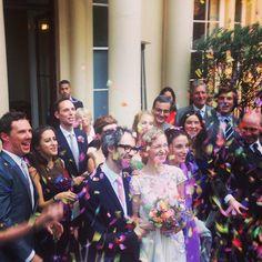 James Rhodes' wedding 27.09.14