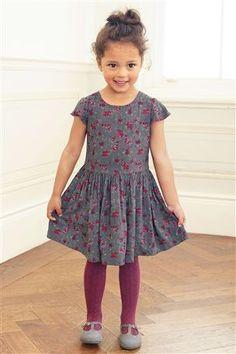 Charcoal Dress (3mths-6yrs)